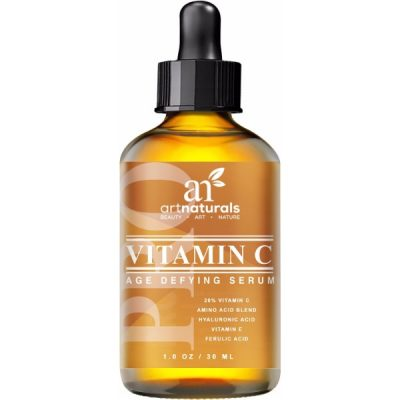 Art Naturals Enhanced Vitamin C Serum; Anti-aging; Repairs Skin Damaged by the Sun's Rays; Fade Sun and Age Spots