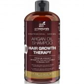 Art Naturals Argan Oil Shampoo Hair Growth Therapy End Hair Loss; Sulfate Free; Best Treatment for Thinning Hair; For Men and Women