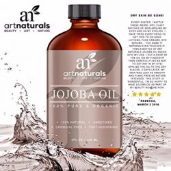 Art Naturals Jojoba Oil 100% Natural and Organic 4 oz., Great for Sensitive skin, Hypoallergenic