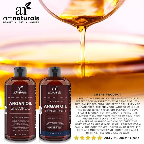 Reviews On Art Naturals Organic Moroccan Argan Oil Shampoo Ingredients