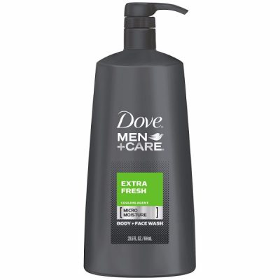 Dove Men+Care Body and Face Wash; Won't Dry Skin; Dermatologist Recommended; Smell Fresh All Day