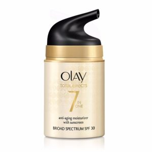 Olay Total Effects 7 in one Anti-Aging Moisturizer; Smooth Fine Lines and Wrinkles; Sunscreen Broad Spectrum SPF 30
