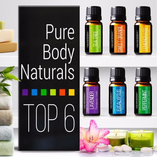 Pure Body Naturals Essential Oils Top