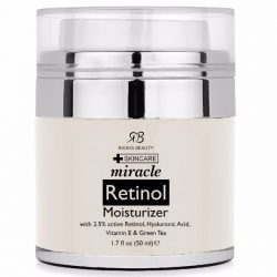 Radha Beauty Retinol Moisturizer; Anti-Aging, Get Younger Looking Skin