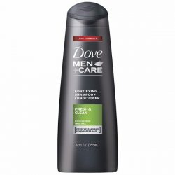 Dove Men+Care 2 in 1 Shampoo and Conditioner; Clean & Refreshing Scent; Invigorates Hair for Thicker and Healthier Strands; Prevents Hair Loss