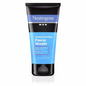 Neutrogena Invigorating Face Wash; Cleanses Pores Deeply; Gently Removes Oil and Dirt; Protects Skin from Drying
