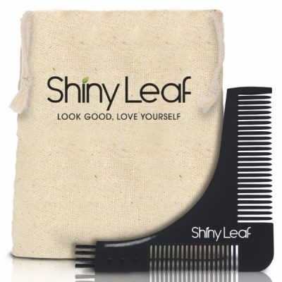 Shiny Leaf - Beard Shaper Comb