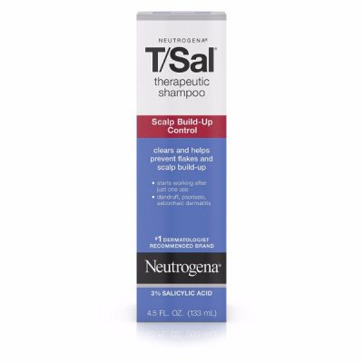 Neutrogena Therapeutic Shampoo Scalp Treatment; Clears Scalp Buildup; Relieves Scalp Conditions; Prevents Flaking and Itchiness