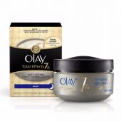Olay Total Effects Night Firming Facial Cream; Smoothing Moisturizing Treatment; Anti-Ageing Night Cream