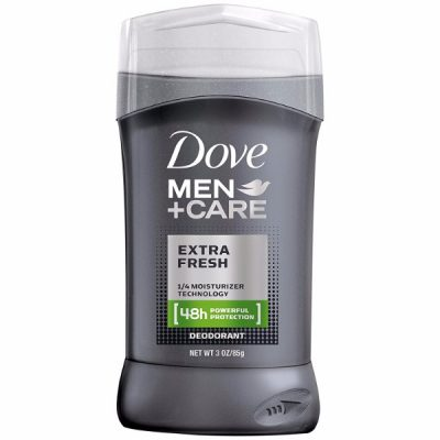 Dove Deodorant Fresh Extra Stick; Odor Protection that Lasts Up to 48 Hours; Total Skin Comfort; Leaves a Refreshing Feeling