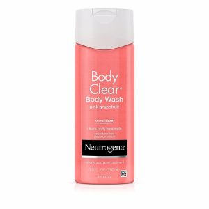 Neutrogena Body Wash Pink Grapefruit; Perfect for Acne-Prone Skin; With Vitamin C for Added Skin Nourishment