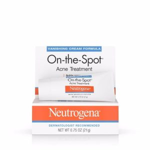 Neutrogena On the Spot Acne Treatment; Fast-Absorbing Formula; Soothes Acne Pimples; Fades Skin Redness