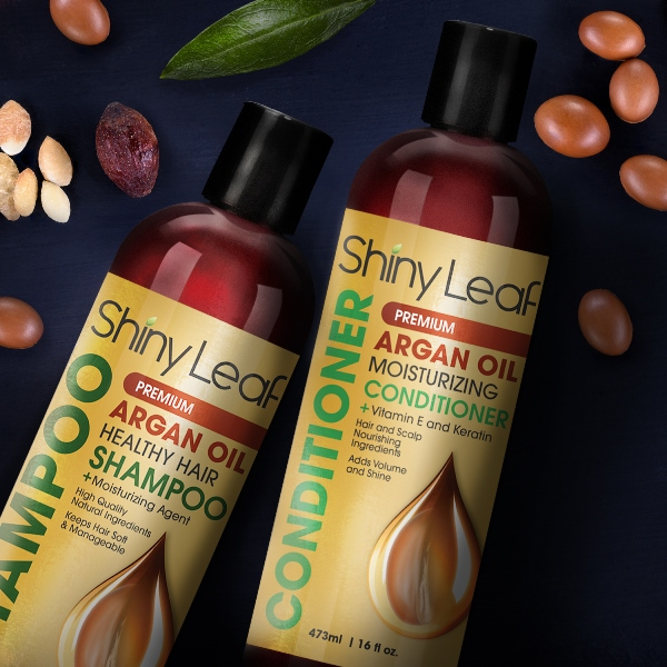 Shiny Leaf Argan Oil Shampoo