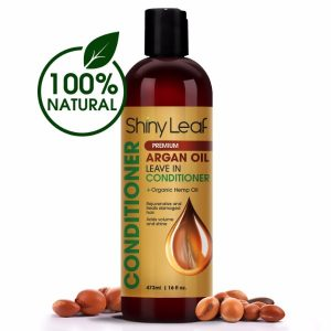 Shiny Leaf - Rejuvenating Argan Oil Leave In Conditioner
