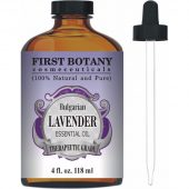 First Botany Cosmeceuticals Bulgarian Lavender Essential Oil; Heals the Body and Mind; Hydrates the Skin Deeply