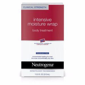 Neutrogena Intense Moisture Wrap Body Treatment; Norwegian Formula for Relieving Dryness; Hydrates the Skin Deeply
