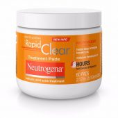 Neutrogena Rapid Clear Treatment Pads; Soothes Swelling & Redness; Prevents Acne and Breakouts