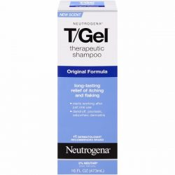 Neutrogena Therapeutic Shampoo; For Dandruff-Free Scalp and Clean Hair; Relives Itching and Flaking