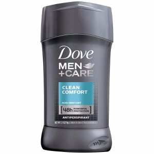 Dove Antiperspirant Deodorant Stick; 48-Hour Protection Against Sweat and Odor; Clean and Comfortable Feeling