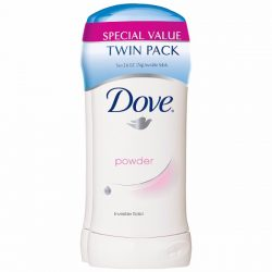 Dove Antiperspirant Powder; Mild Soothing Scent for A Refreshing Feeling; Soothes Underarm Skin