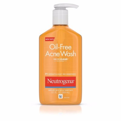Neutrogena Oil-Free Acne Wash; Prevents Acne and Breakouts; Reveals Soft and Smooth Skin After Wash