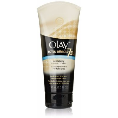 Olay Total Effects Revitalizing Foaming Cleanser; Gentle Face Wash for All Skin Types; Rejuvenates for A Clear Look