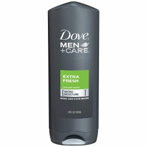 Dove Men+Care Body and Face Wash Extra Fresh Pack; Clean and Crisp Scent; With MicroMoisture Technology