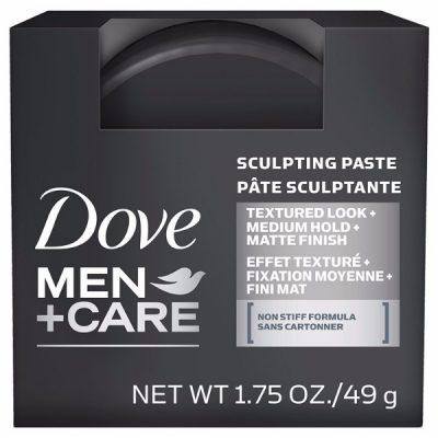 Dove Men+Care Sculpting Paste; With a Matte Finish; Non-Stiff Formula
