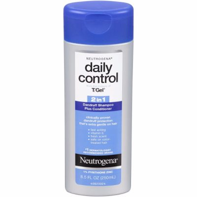 Neutrogena Daily Control 2-in-1 Dandruff Shampoo Plus Conditioner; Instant Relief Against Dandruff; For Softer Hair