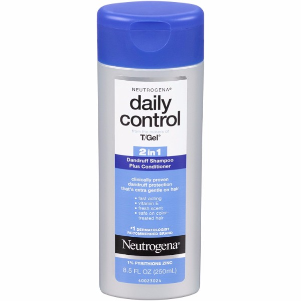 MOC | Neutrogena Daily Control 2-in-1 Dandruff Shampoo Plus Conditioner; Instant Relief Against Dandruff; For Softer Hair