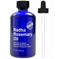Radha Beauty Rosemary Essential Oil; With A Soothing Fragrance for Aromatherapy; Moisturizes Skin and Hair