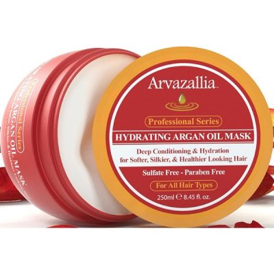 Arvazallia Hydrating Argan Oil Hair Mask; Deep Conditioner; Hydrating Formula for Healthier Hair