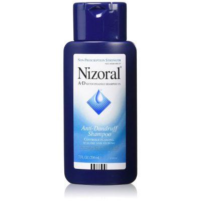 Nizoral A-D Anti-Dandruff Shampoo; Prevents Dandruff Outbreak; Controls Flaking and Itching