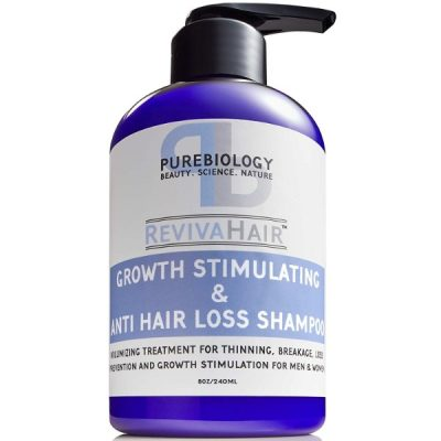 Pure Biology Hair Growth Stimulating Shampoo; Shampoo for Men and Women; For All Hair Types