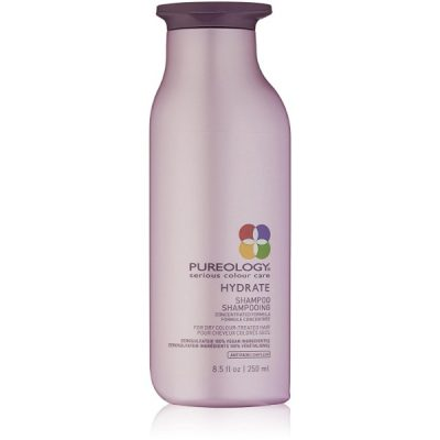 Pureology Hydrate Shampoo; With Superior Color Retention; Sulfate-Free Hair Cleanser