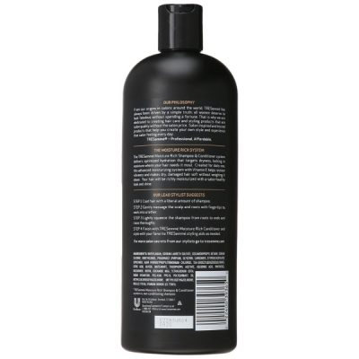 TRESemme Moisture Rich Shampoo; Hydrates Hair Fully; For Soft and Silky Hair