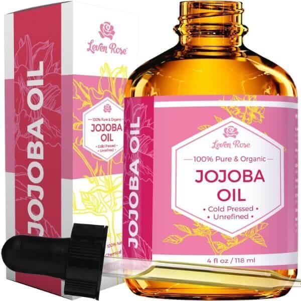 Leven Rose Pure Cold-Pressed Natural Jojoba Oil; Moisturizes Skin ...