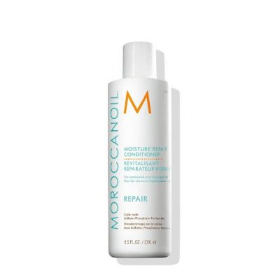 Moroccanoil Moisture Repair Shampoo and Conditioner Combo Set; Repairs Damaged Hair; For Weak and Brittle Hair