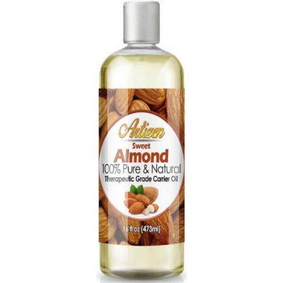 Artizen Sweet Almond Oil; Carrier Oil for Essential Oils; Moisturizes Skin; Works as Massage Oil