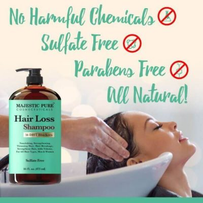 Majestic Pure Hair Loss Shampoo; Restores Hair Health; Adds Hair Volume
