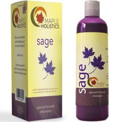 Maple Holistics Anti-Dandruff Sage Shampoo; Sulfate-Free Cleanser; For Men and Women