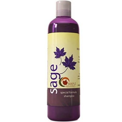 Maple Holistics Anti-Dandruff Sage Shampoo; Sulfate-Free Cleanser; For Men and Women