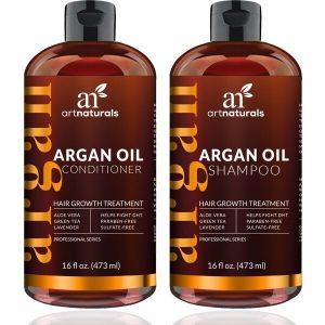 Art Naturals Moroccan Argan Oil Hair Loss Shampoo & Conditioner Set
