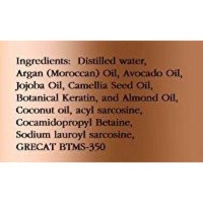 Majestic Pure Argan Oil Shampoo; Vitamin Enriched Formula; Restores Hair Health and Shine