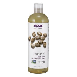 NOW Foods Castor Oil; A Natural Moisturizer for Skin; Leaves Hair Soft and Smooth