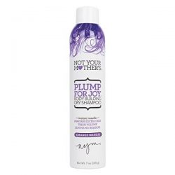 Not Your Mother's Plump for Joy Thickening Dry Shampoo; For Thick and Bouncy Hair; Refreshes Scalp