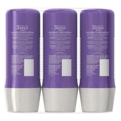 Aussie 3-Minute Miracle Moist Deep Conditioning Treatment; Detangles Hair; Moisturizes Dry and Damaged Hair
