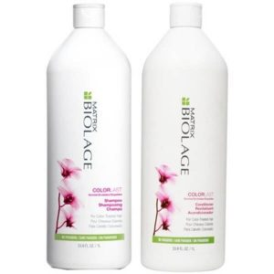 Matrix Biolage Colorlast Shampoo and Conditioner; Low pH Formulas to Prevent Hair Dryness; Maintains Hair Color and Shine