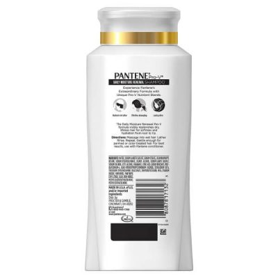 Pantene Pro-V Daily Moisture Renewal Hydrating Shampoo; Hydrates Hair Efficiently; Improves Hair Shine and Texture